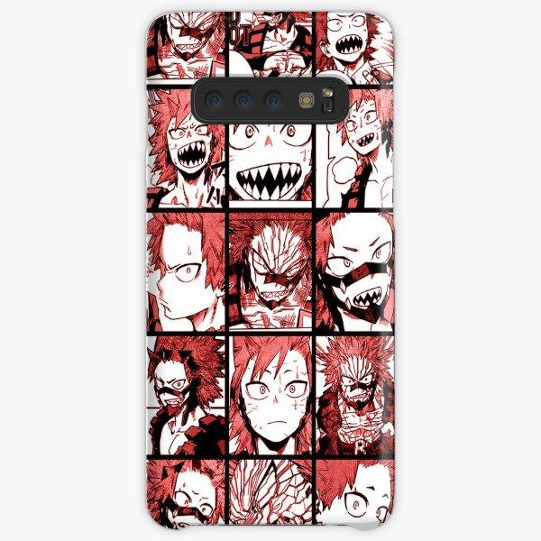 BNHA Kirishima collage - color version Samsung Galaxy Snap Case