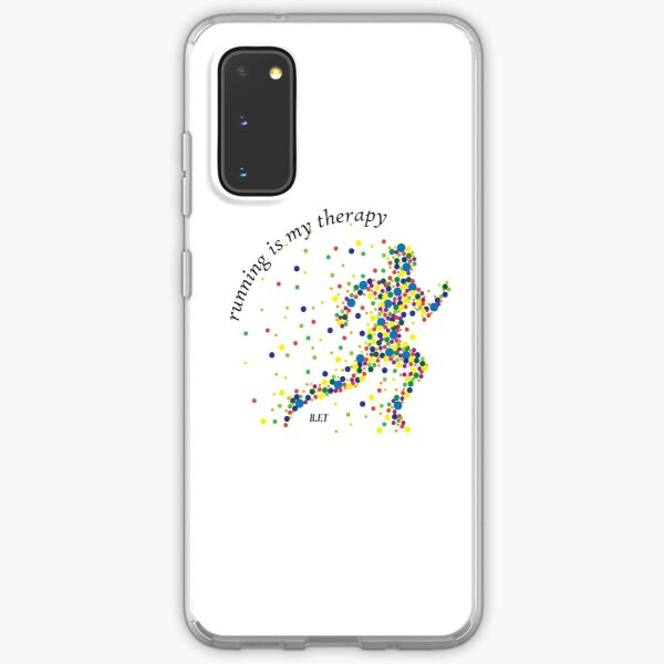 Running is my Therapy Samsung Galaxy Soft Case