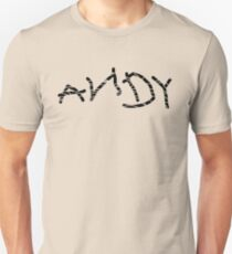 Distressed ANDY (Toy Story) Slim Fit T-Shirt
