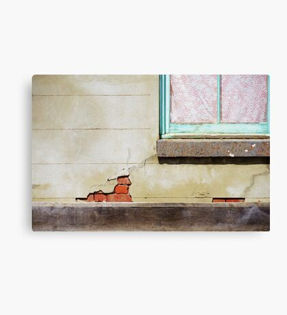 Old places are simply more interesting Canvas Print