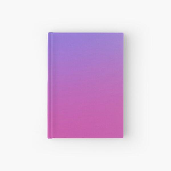 Purple to pink gradient Hardcover Journal