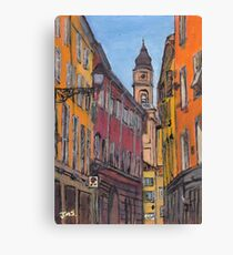 Colours of Parma, Italy Canvas Print