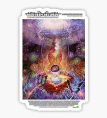 """BGRN-003 Benefit with Adam Scott Miller - """"Wisdom's Dare"""" Merch Sticker"""
