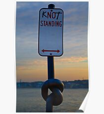 Knot Standing Poster