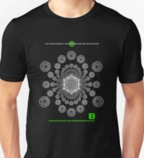 Crop Circle Metatron Vortex 22 - Oct 2012 Merch Unisex T-Shirt