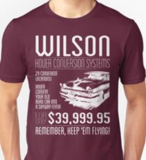 Wilson Hover Conversion Systems T-Shirt