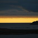 sunset on Fitful  by NordicBlackbird