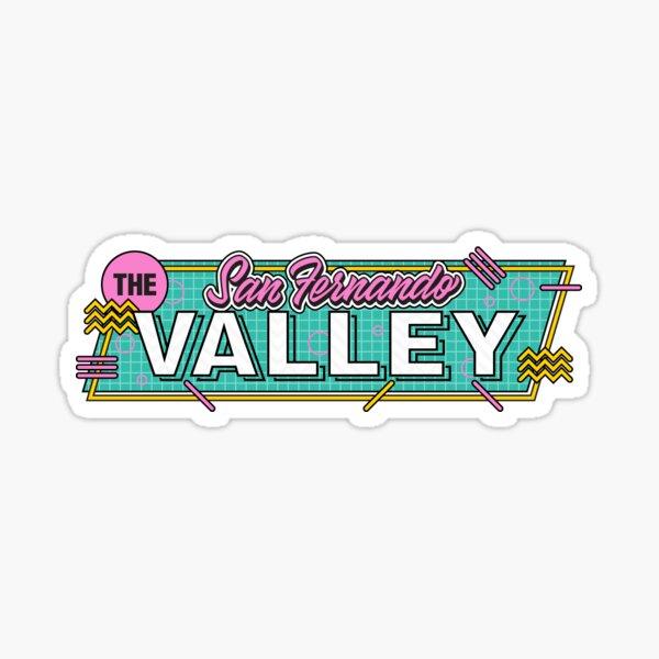 218. San Fernando Valley, CA Sticker