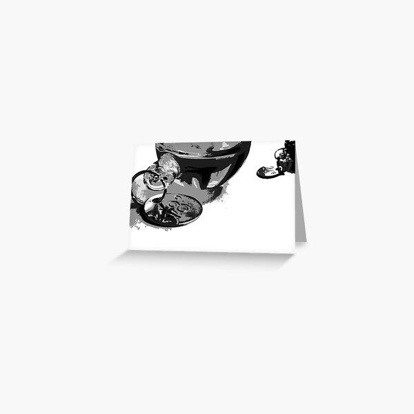 Smashed GalileanThermometer Greeting Card