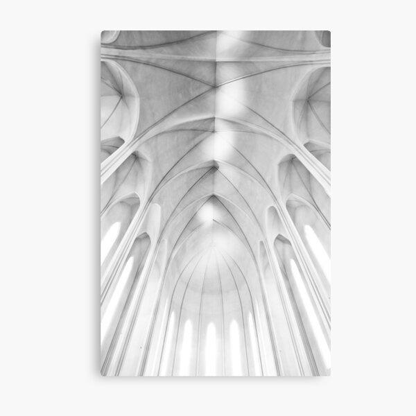 Fishbone - Reykjavik Church Metal Print