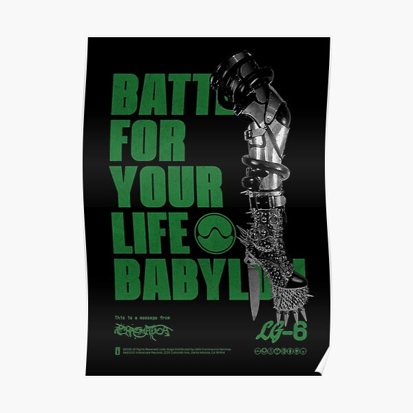 Battle for your life Poster