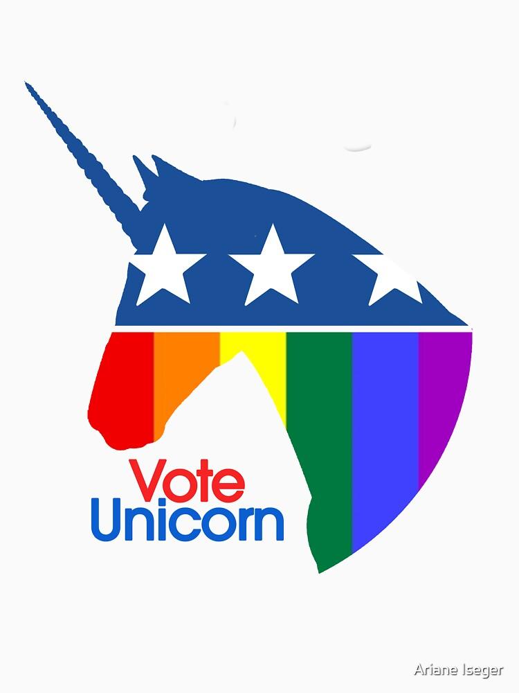 Vote Unicorn | Unisex T-Shirt