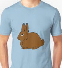 Brown Arctic Hare Unisex T-Shirt