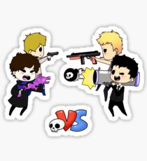 Consulting Detective VS Consulting Criminal  Sticker
