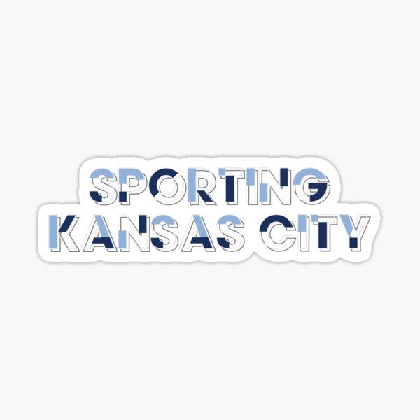 Sporting Kansas City Block Letters Sticker