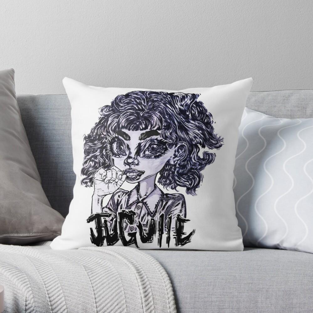Tasty Gossip Throw Pillow