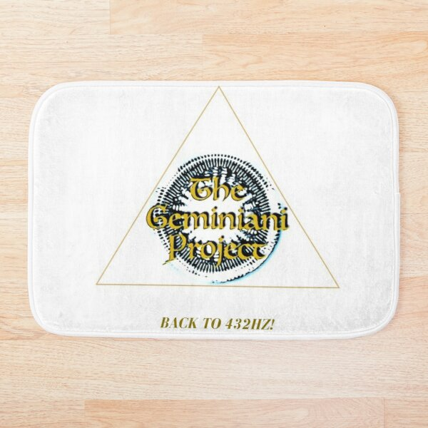 Back to 432hz! Bath Mat