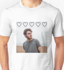 Alfie Deyes hearts Unisex T-Shirt