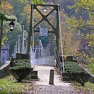 Bridge to Lumberville, Pa by Marriet