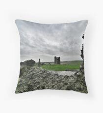 Hadleigh Castle Throw Pillow