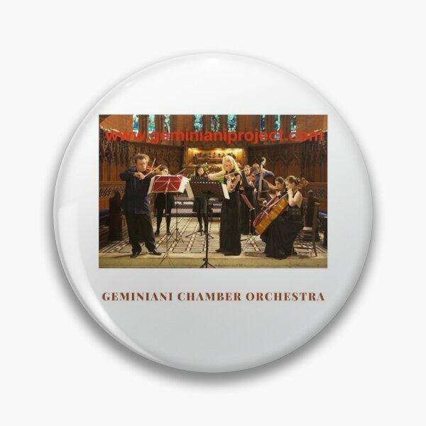 Geminiani Chamber Orchestra Pin