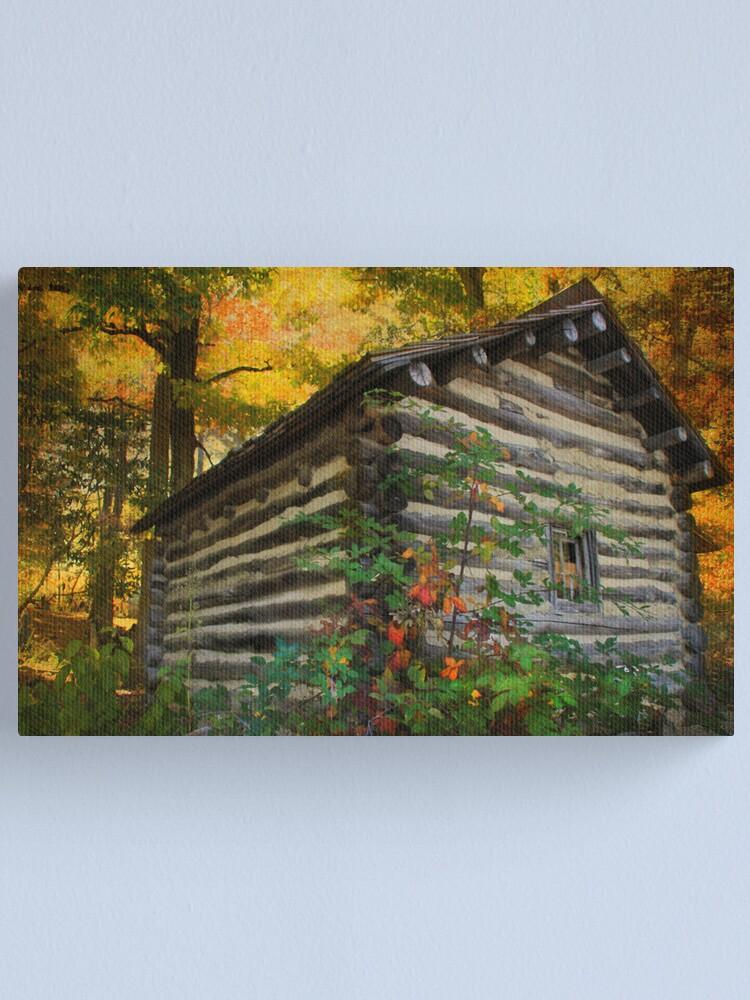 Alternate view of Appalachian Dream Home Canvas Print