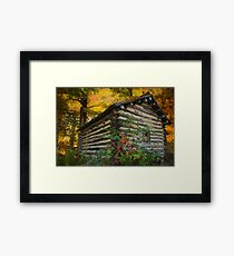Appalachian Dream Home Framed Print