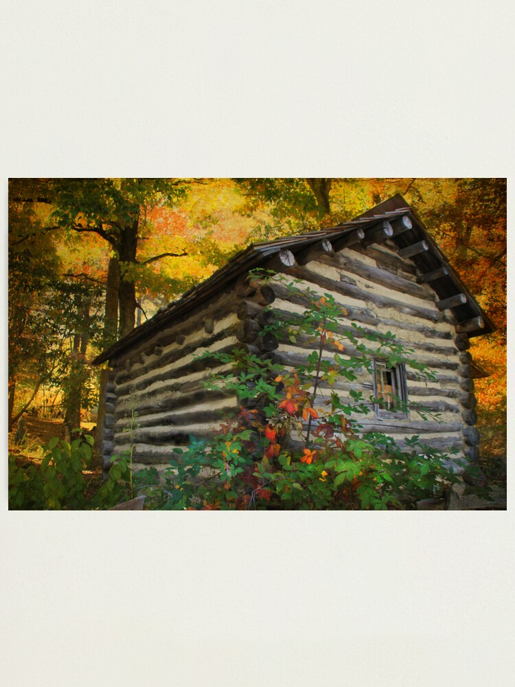 Alternate view of Appalachian Dream Home Photographic Print
