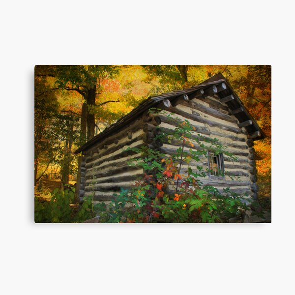 Appalachian Dream Home Canvas Print