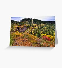 Mexican Canyon Trestle Greeting Card