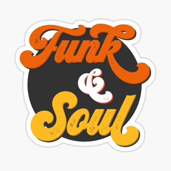 Funk & Soul II (Dark) Sticker