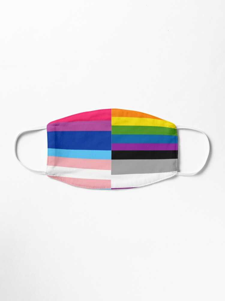Alternate view of Pride for All Mask