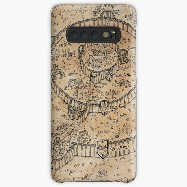Paradis Map Samsung Galaxy Snap Case