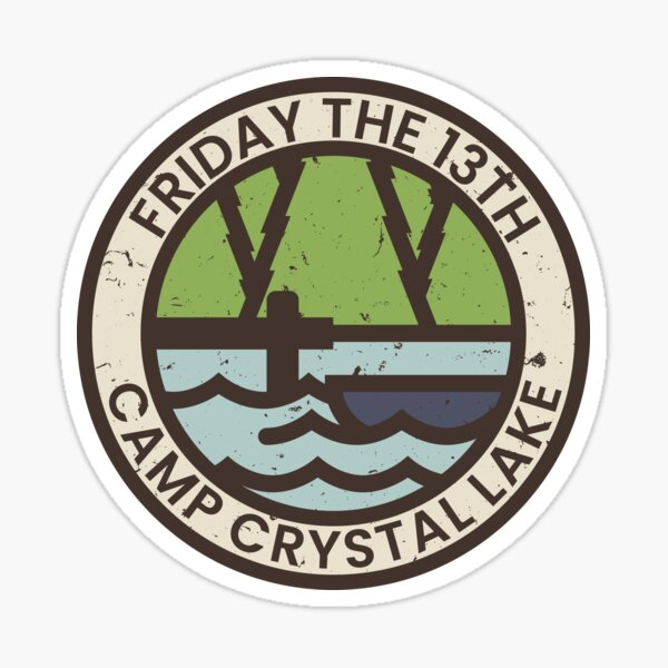 Friday the 13th Sticker
