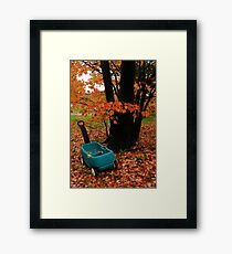 October Framed Print