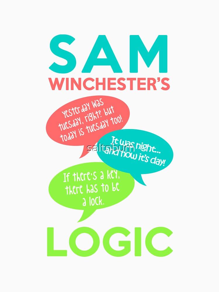 SAM WINCHESTER'S LOGIC | Unisex T-Shirt