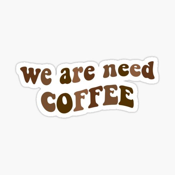 cita de café nct yuta Pegatina brillante