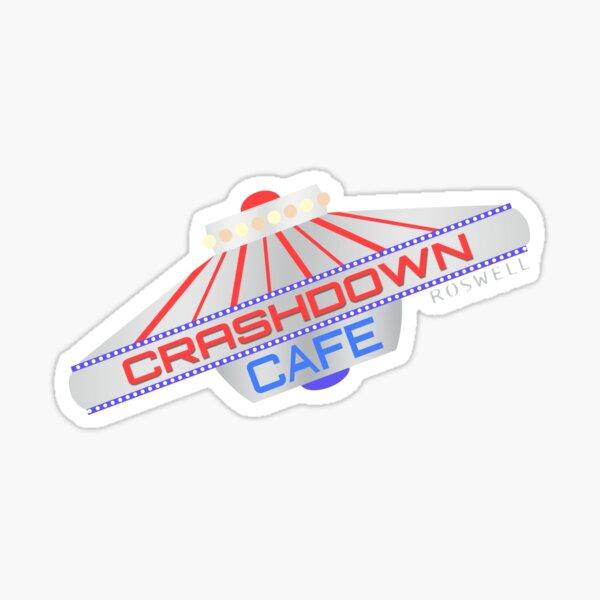 Crashdown Cafe 2000 Sticker