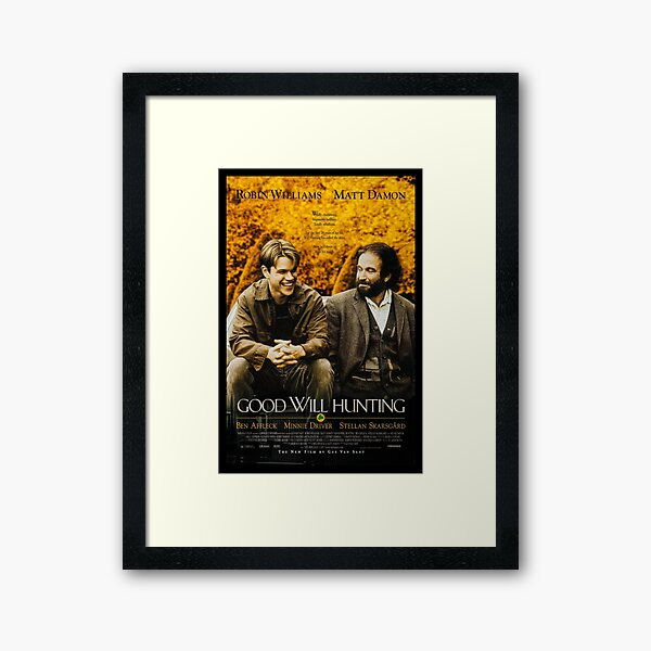 """""""It's Not Your Fault"""" GWH Poster Framed Art Print"""