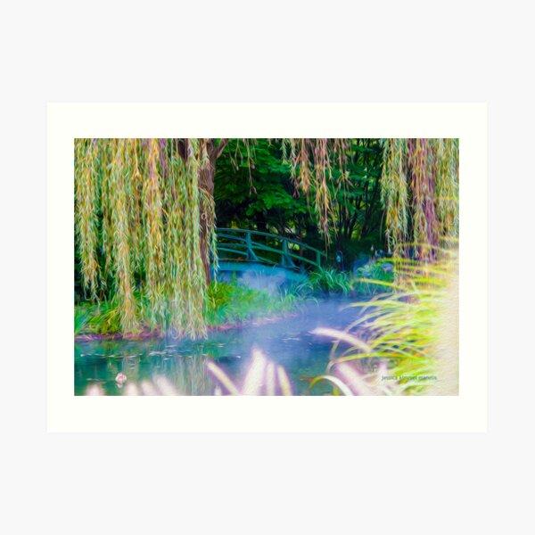 A Little Monet In Jersey Art Print