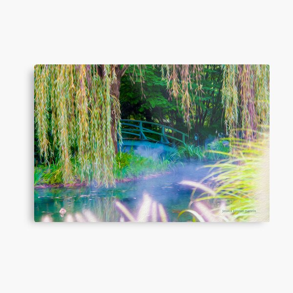 A Little Monet In Jersey Metal Print