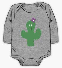 Cutesy Flower Cactus One Piece - Long Sleeve