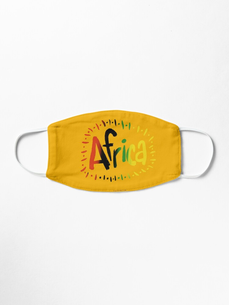 Alternate view of Africa Mask