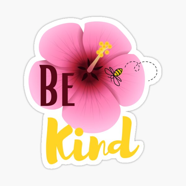 Be Kind, Bee Kind Sticker