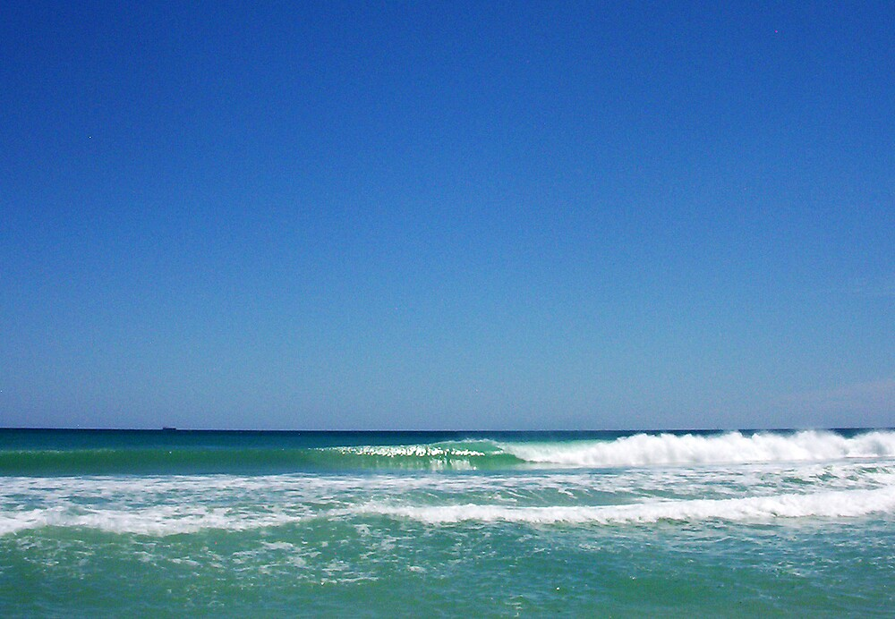 Perfect Wave One - Trigg 10 10 12 by Robert Phillips