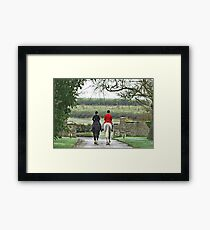 To the Hunt Framed Print