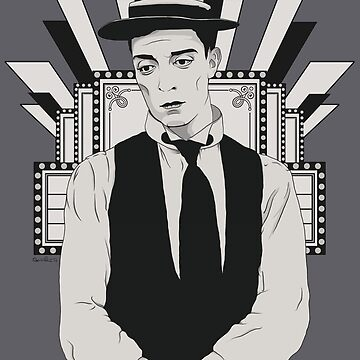 Presenting BUSTER KEATON by ChickNugs