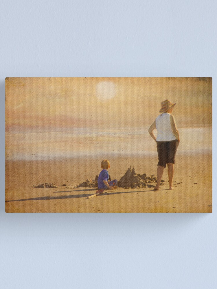 Alternate view of Last of the Summer Days Canvas Print
