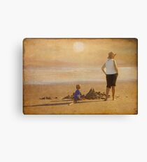 Last of the Summer Days Canvas Print