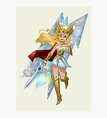 She-Ra Smoosh Photographic Print